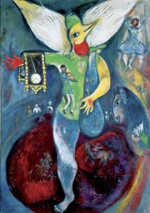 M.Chagall, Der Jongleur - M.Chagall / The Juggler / 1943 - M. Chagall / 'Le Jongleur', 1943.